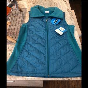 NWT Columbia light puffy vest